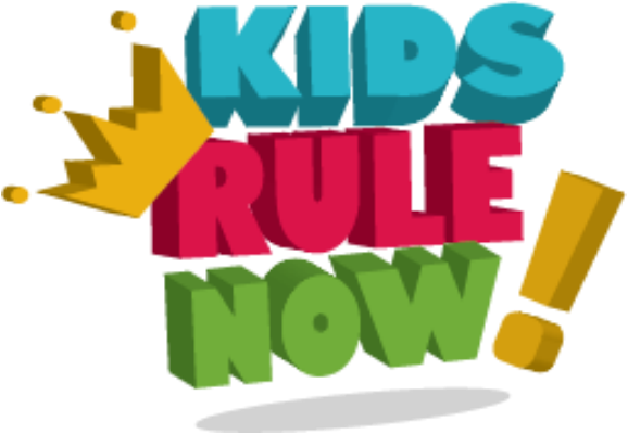 Original kids rule now logo
